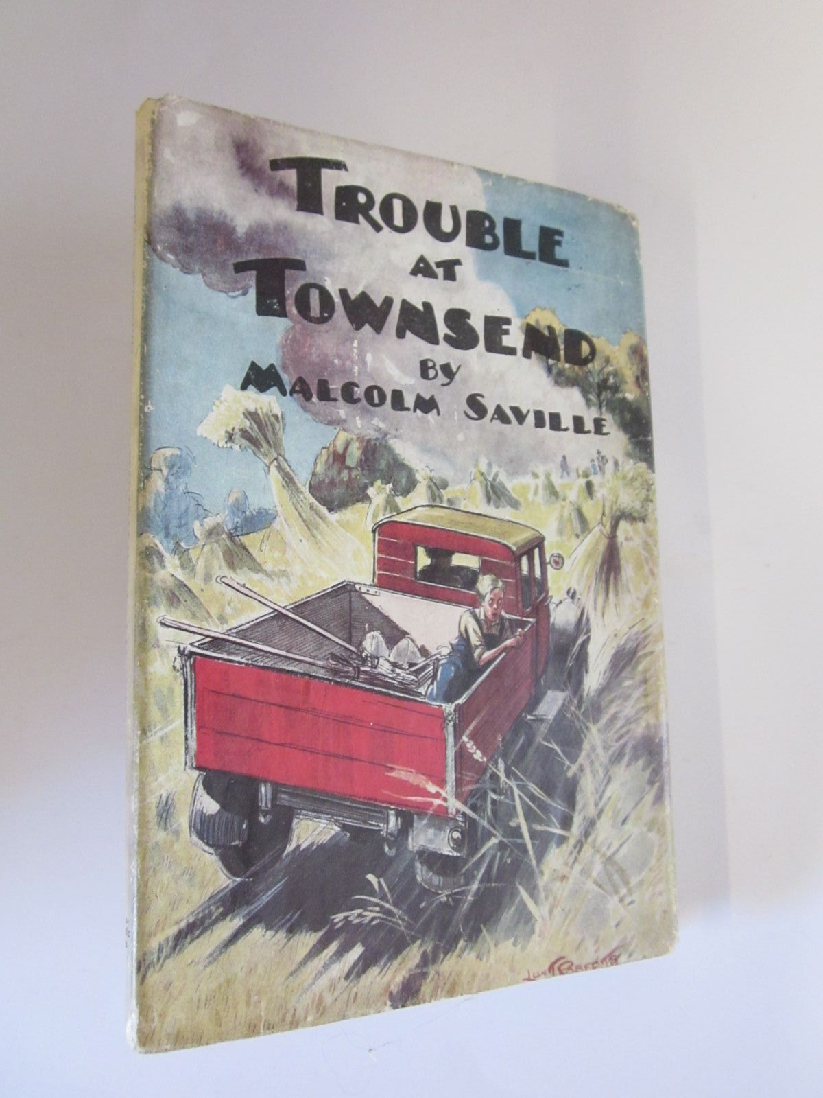 Photo of TROUBLE AT TOWNSEND written by Saville, Malcolm illustrated by Roberts, Lunt published by Transatlantic Arts Ltd. (STOCK CODE: 1206716)  for sale by Stella & Rose's Books