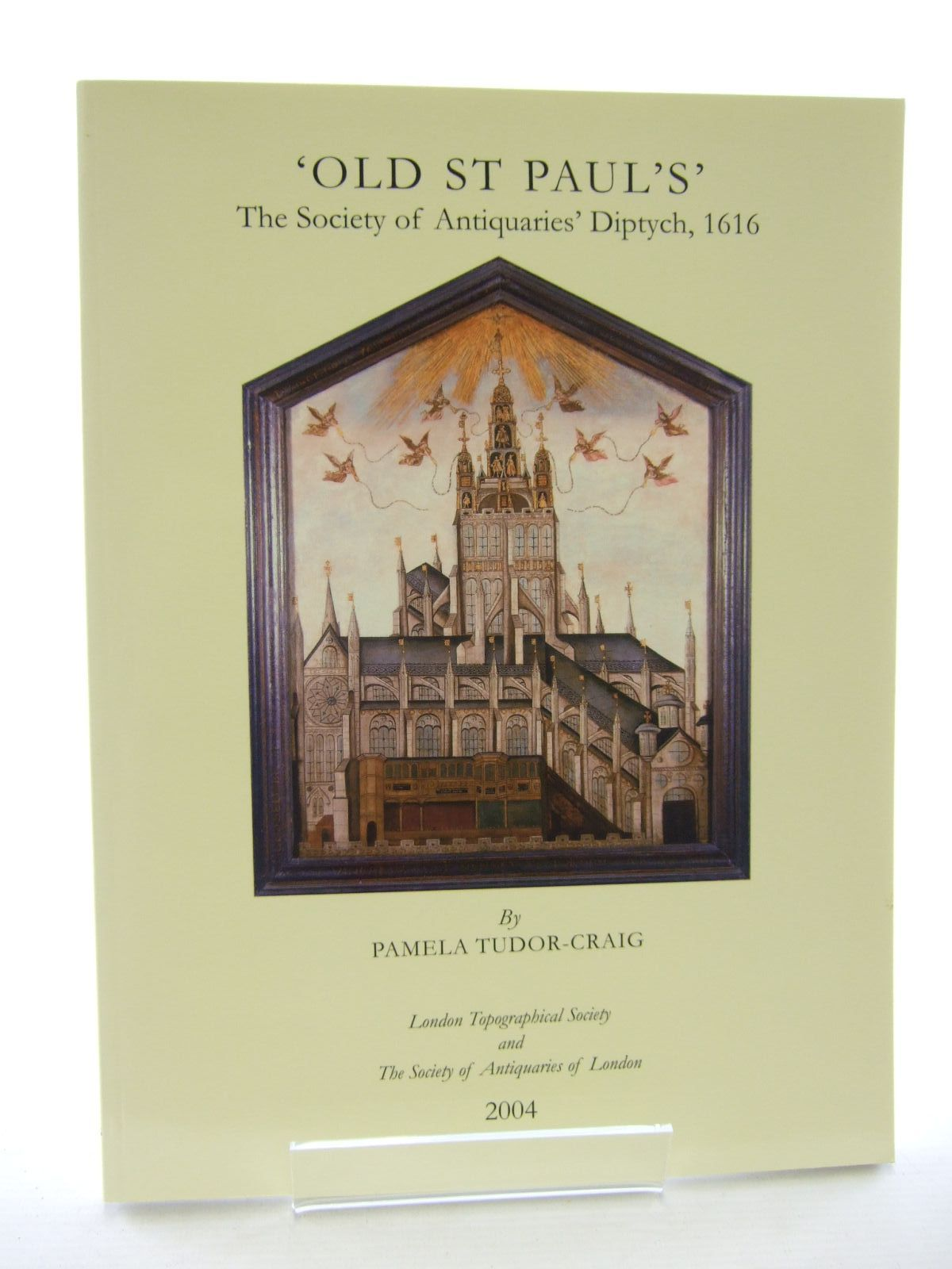 Photo of OLD ST PAUL'S written by Tudor-Craig, Pamela et al,  published by London Topographical Society (STOCK CODE: 1206775)  for sale by Stella & Rose's Books