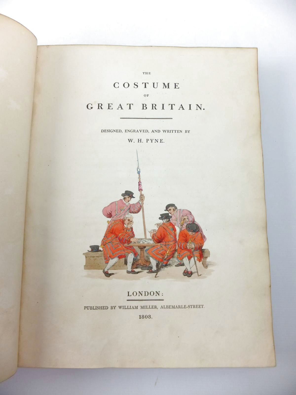 Photo of THE COSTUME OF GREAT BRITAIN written by Pyne, W.H. illustrated by Pyne, W.H. published by William Miller (STOCK CODE: 1206933)  for sale by Stella & Rose's Books