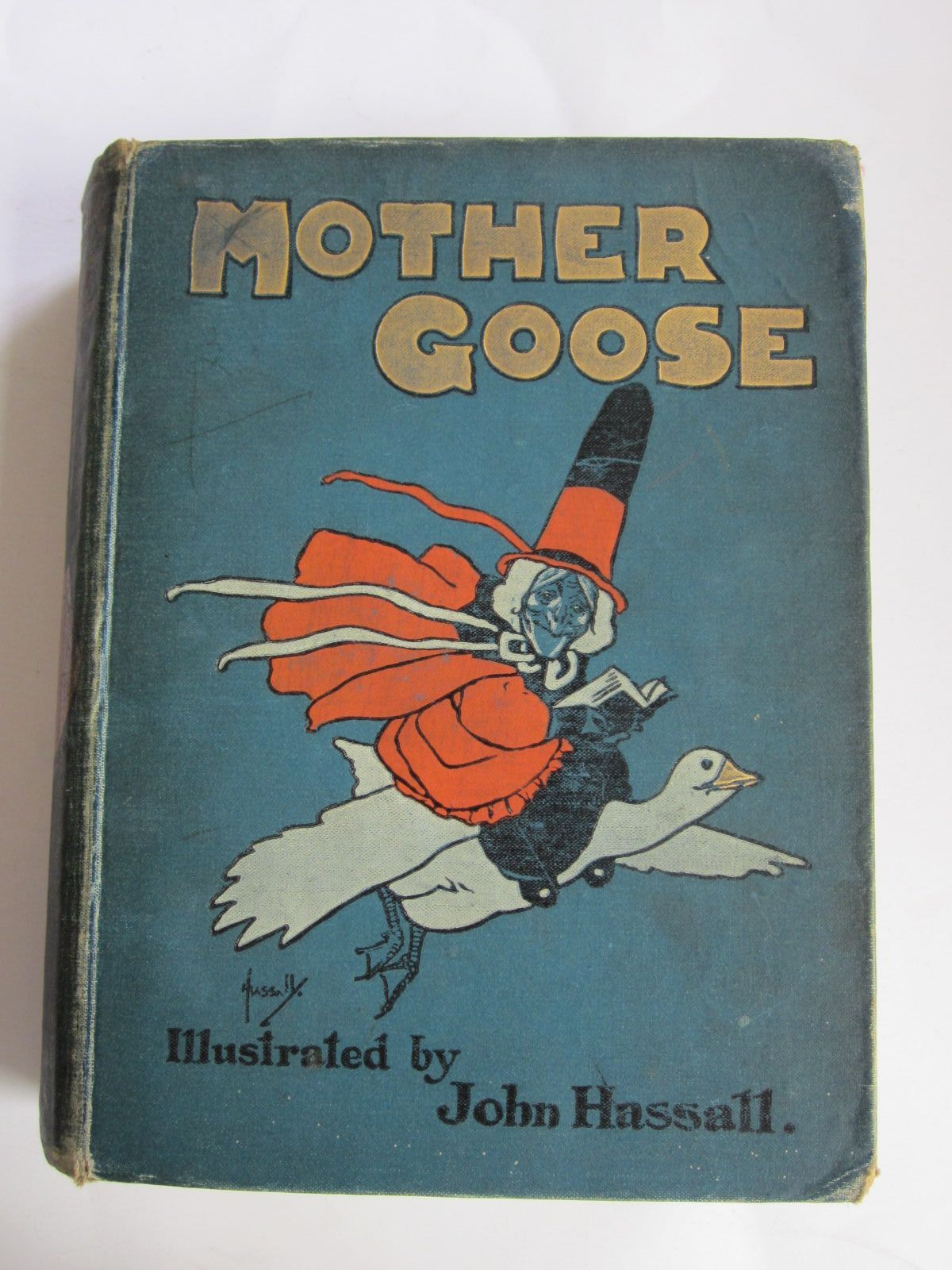 Photo of MOTHER GOOSE'S NURSERY RHYMES written by Jerrold, Walter illustrated by Hassall, John published by Blackie & Son Ltd. (STOCK CODE: 1207358)  for sale by Stella & Rose's Books