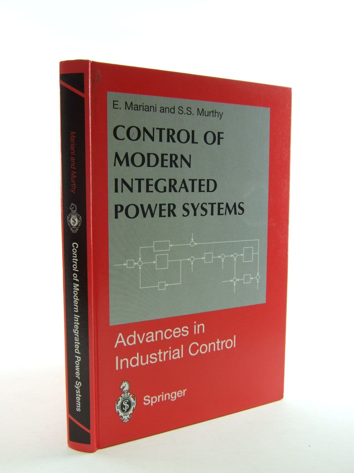Photo of CONTROL OF MODERN INTEGRATED POWER SYSTEMS written by Mariani, E. Murthy, S.S. published by Springer (STOCK CODE: 1207463)  for sale by Stella & Rose's Books