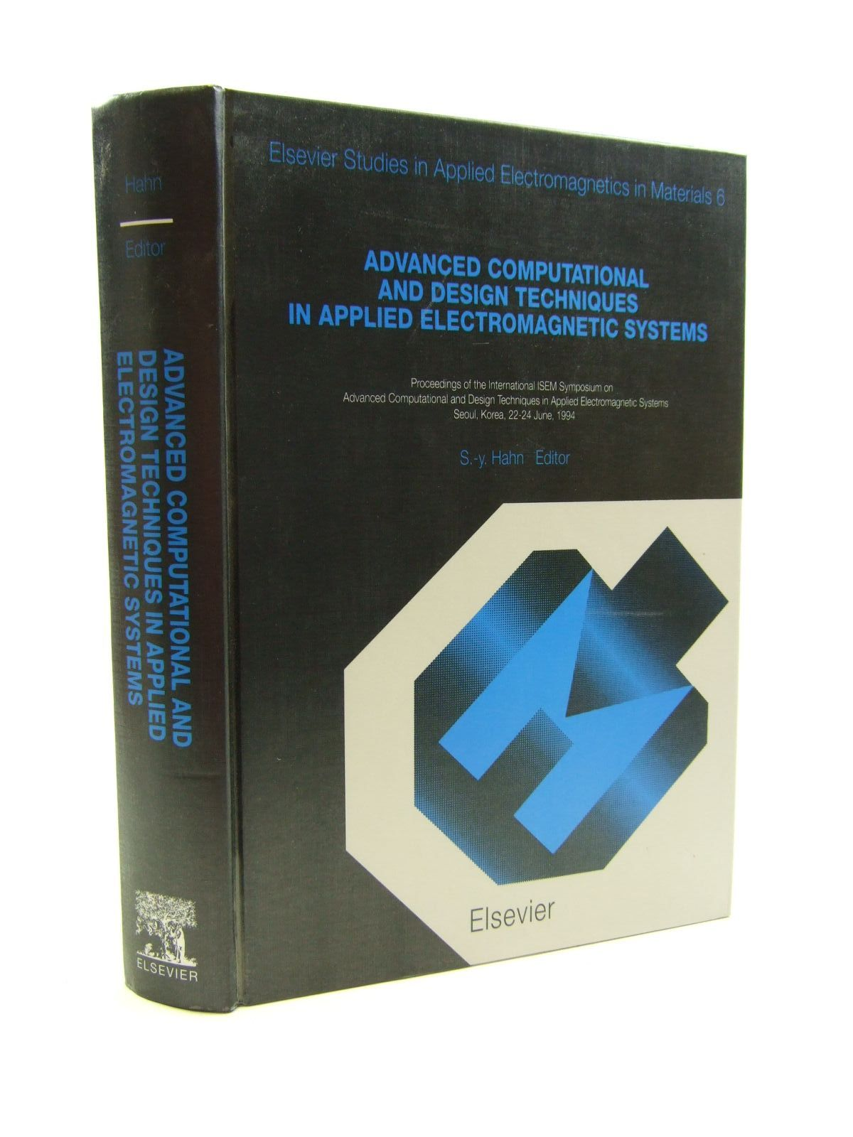 Photo of ADVANCED COMPUTATIONAL AND DESIGN TECHNIQUES IN APPLIED ELECTROMAGNETIC SYSTEMS- Stock Number: 1207483