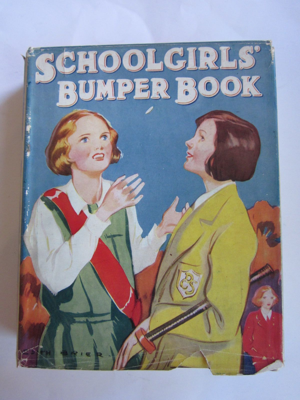 Photo of SCHOOLGIRLS' BUMPER BOOK written by Oldmeadow, Katharine Herbertson, Jessie Leckie et al,  illustrated by Brier, Edith published by Collins Clear-Type Press (STOCK CODE: 1207752)  for sale by Stella & Rose's Books