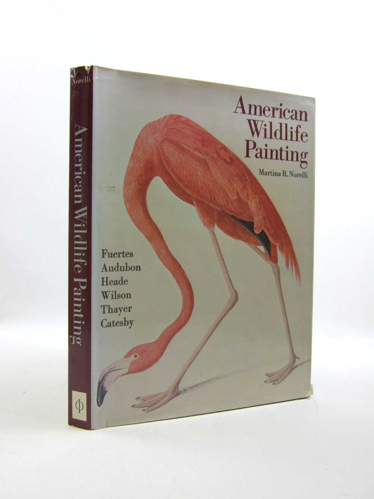 Photo of AMERICAN WILDLIFE PAINTING written by Norelli, Martina R. published by Watson-Gupthill Publications (STOCK CODE: 1207762)  for sale by Stella & Rose's Books