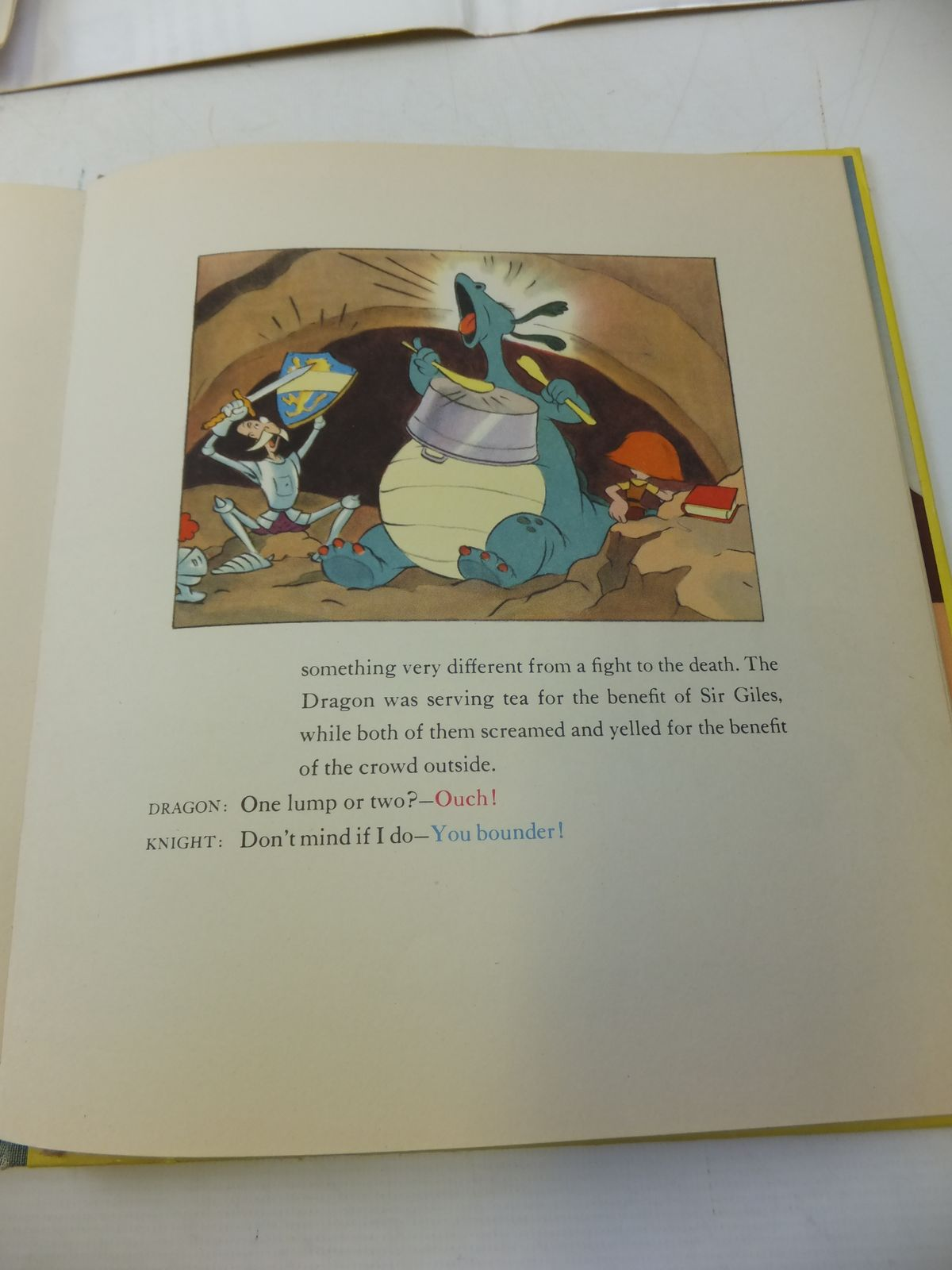 Photo of THE RELUCTANT DRAGON written by Disney, Walt Benchley, Robert Grahame, Kenneth published by Garden City Publishing Co. (STOCK CODE: 1207806)  for sale by Stella & Rose's Books