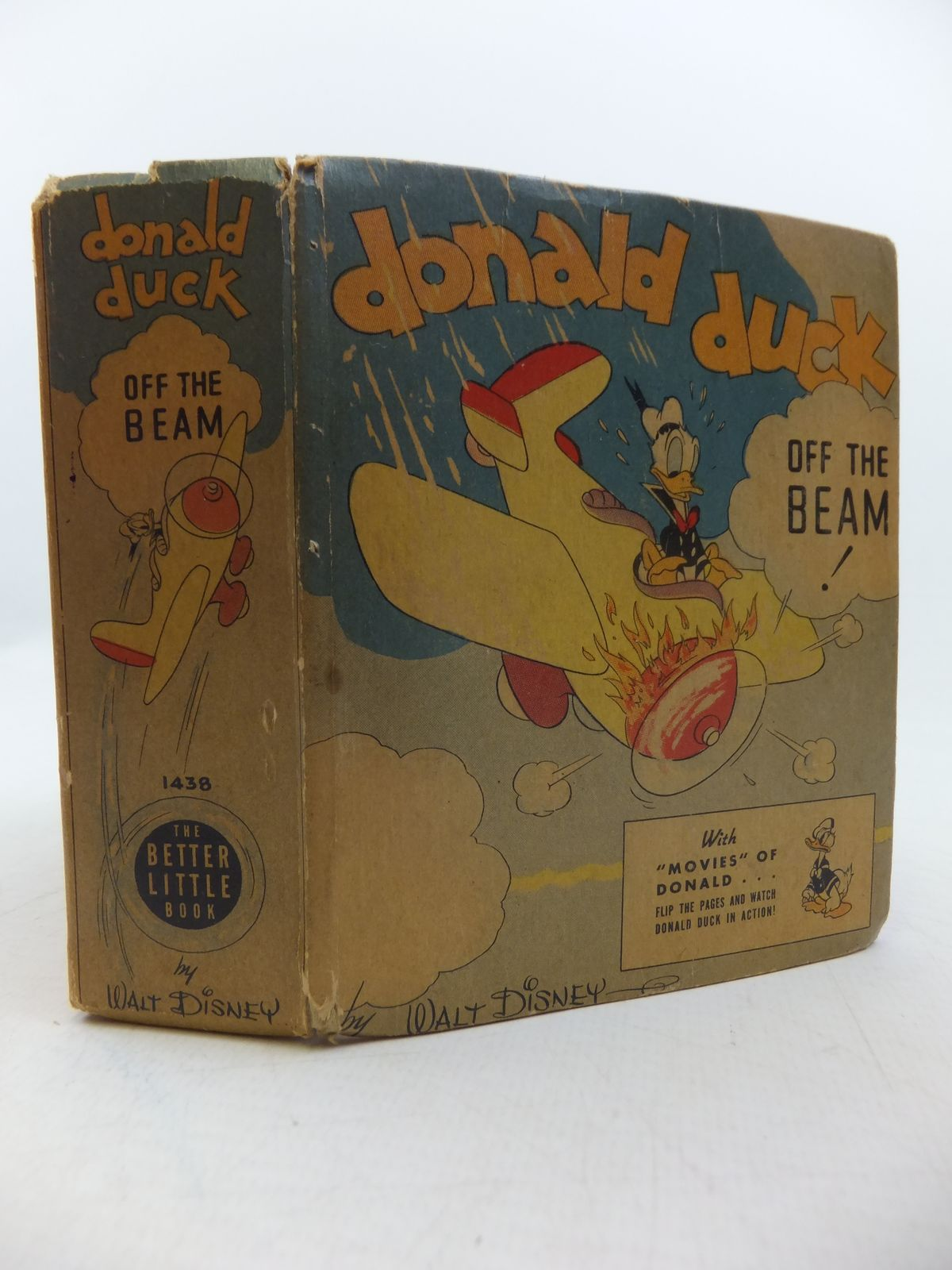 Photo of DONALD DUCK OFF THE BEAM written by Disney, Walt illustrated by Disney, Walt published by Whitman Publishing Company (STOCK CODE: 1207820)  for sale by Stella & Rose's Books