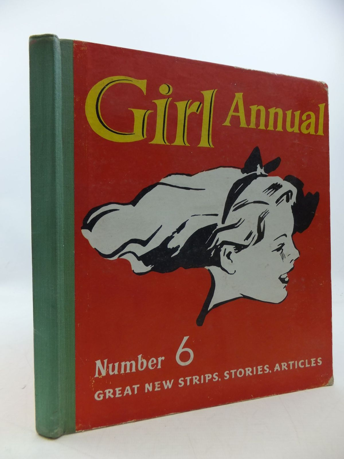 Photo of GIRL ANNUAL No. 6 written by Morris, Marcus published by Hulton Press Ltd. (STOCK CODE: 1207835)  for sale by Stella & Rose's Books