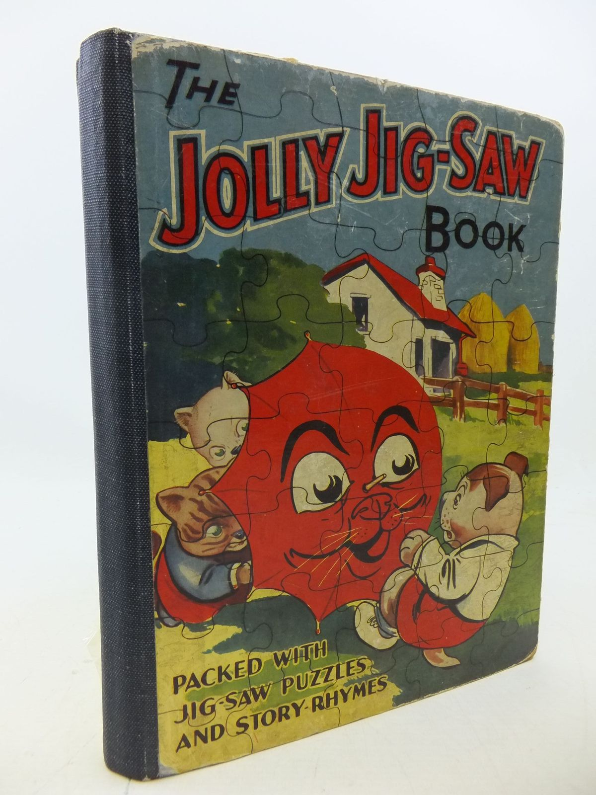 Photo of THE JOLLY JIG-SAW BOOK- Stock Number: 1207931