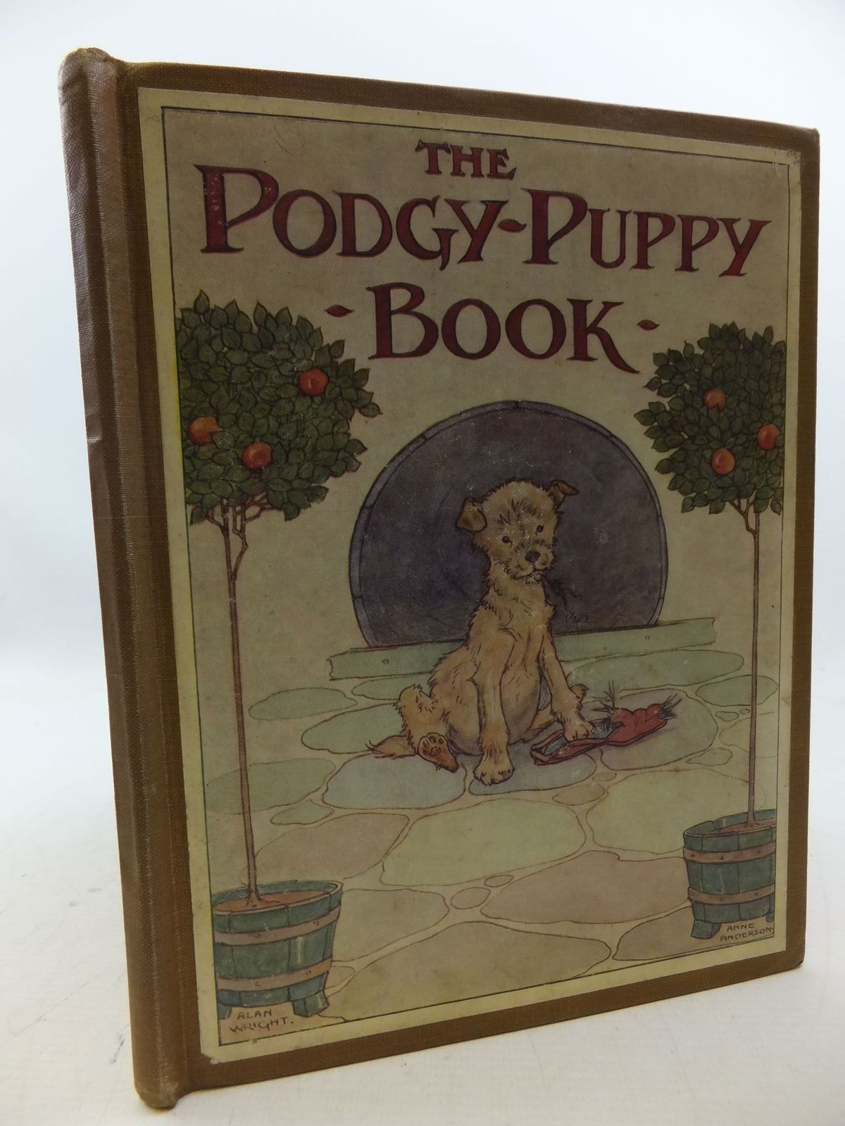 Photo of THE PODGY-PUPPY BOOK written by Dennis, Clara G. illustrated by Wright, Alan<br />Anderson, Anne published by Thomas Nelson and Sons Ltd. (STOCK CODE: 1207965)  for sale by Stella & Rose's Books