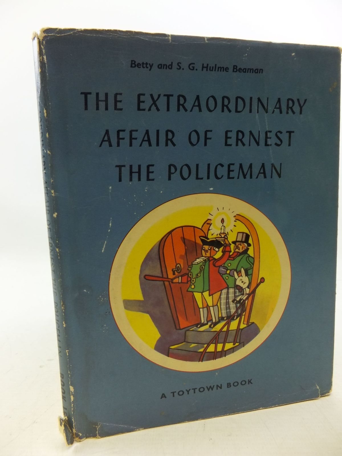 Photo of THE EXTRAORDINARY AFFAIR OF ERNEST THE POLICEMAN written by Beaman, S.G. Hulme illustrated by Lovell, Kenneth published by Oldbourne Book Co. Ltd. (STOCK CODE: 1207971)  for sale by Stella & Rose's Books