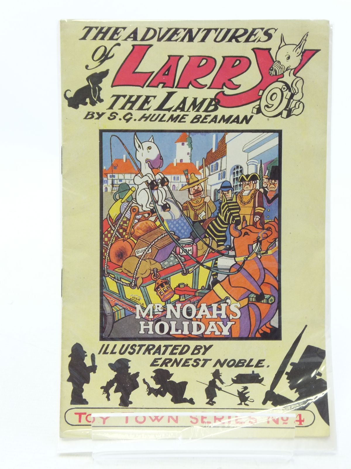 Photo of THE ADVENTURES OF LARRY THE LAMB - MR. NOAH'S HOLIDAY written by Beaman, S.G. Hulme illustrated by Noble, Ernest published by George Lapworth & Co Ltd. (STOCK CODE: 1208030)  for sale by Stella & Rose's Books