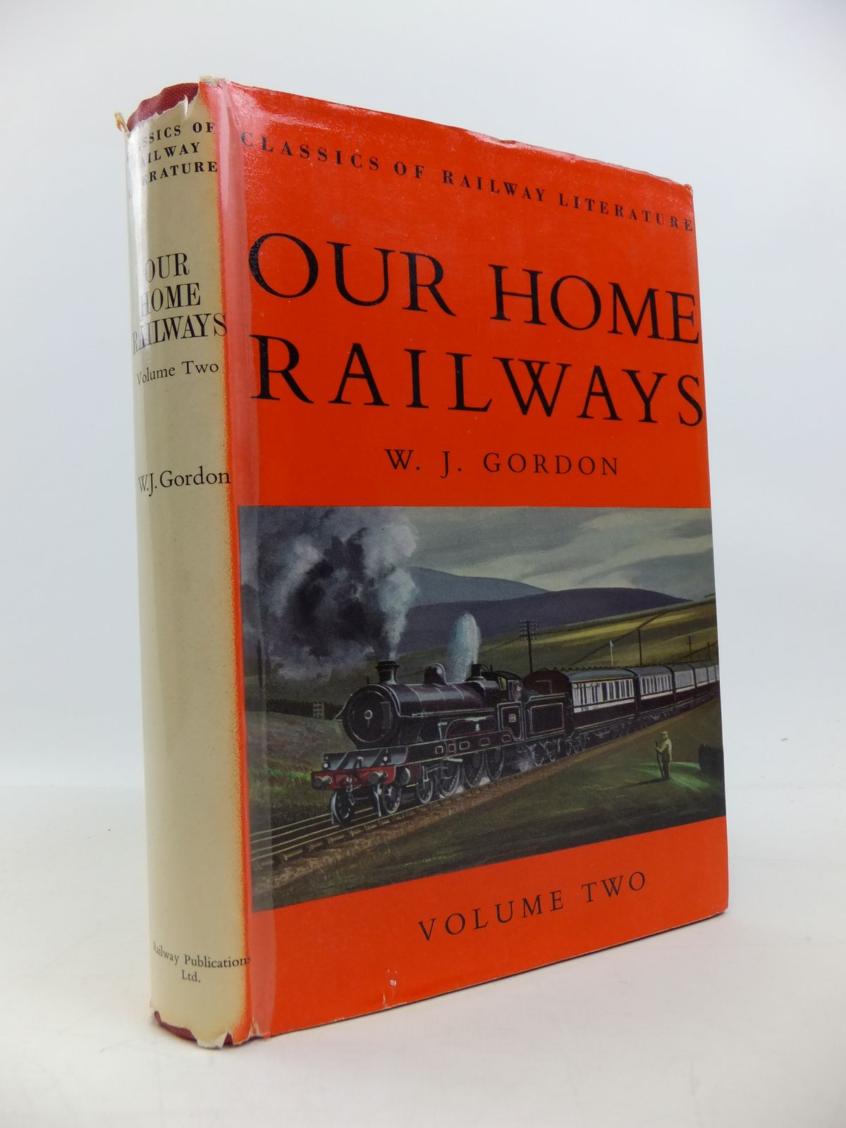 Photo of OUR HOME RAILWAYS VOLUME TWO written by Gordon, W.J. published by Ian Allan (STOCK CODE: 1208161)  for sale by Stella & Rose's Books