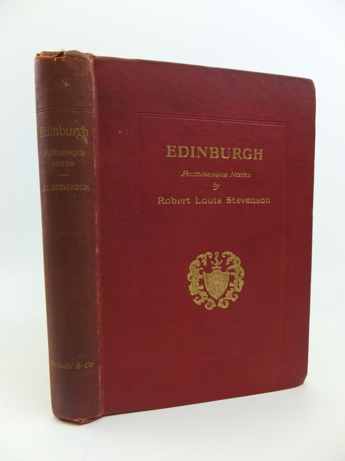 Photo of EDINBURGH PICTURESQUE NOTES written by Stevenson, Robert Louis published by Seeley & Co. (STOCK CODE: 1208203)  for sale by Stella & Rose's Books