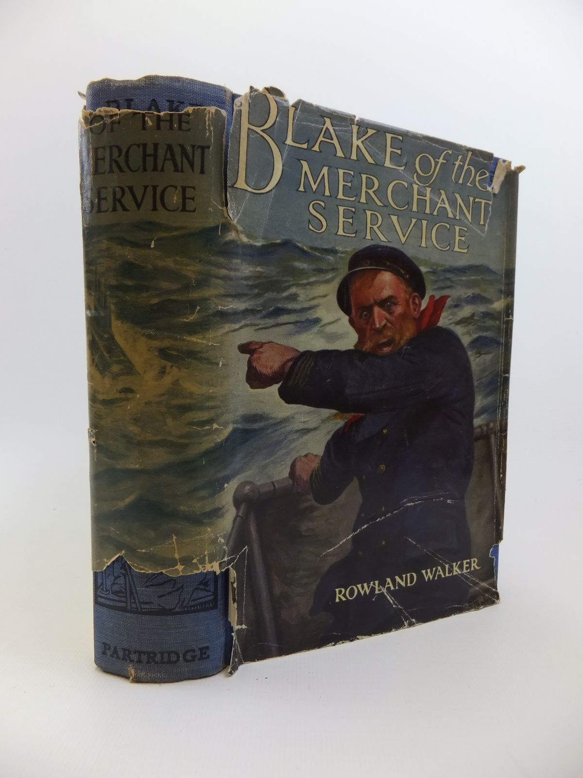 Photo of BLAKE OF THE MERCHANT SERVICE written by Walker, Rowland illustrated by Wood, Stanley L. published by S.W. Partridge & Co. (STOCK CODE: 1208264)  for sale by Stella & Rose's Books