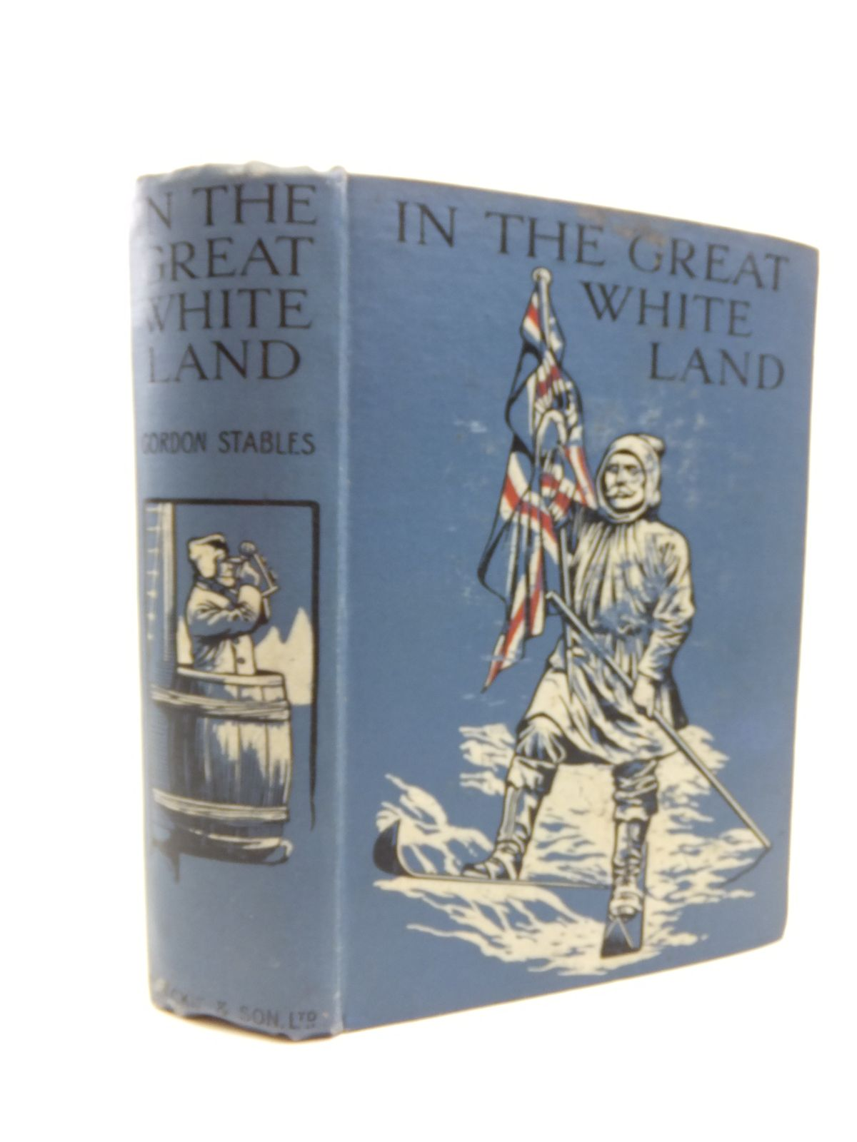 Photo of IN THE GREAT WHITE LAND written by Stables, Gordon illustrated by De Walton, Ambrose published by Blackie & Son Ltd. (STOCK CODE: 1208270)  for sale by Stella & Rose's Books