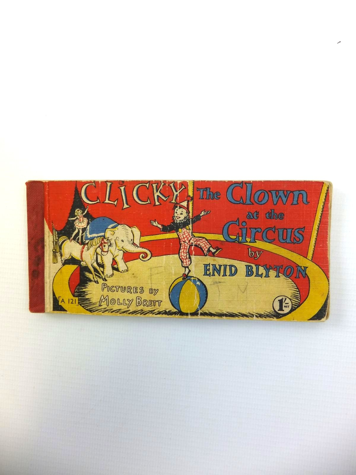 Photo of CLICKY THE CLOWN AT THE CIRCUS written by Blyton, Enid illustrated by Brett, Molly published by Brockhampton Press (STOCK CODE: 1208538)  for sale by Stella & Rose's Books