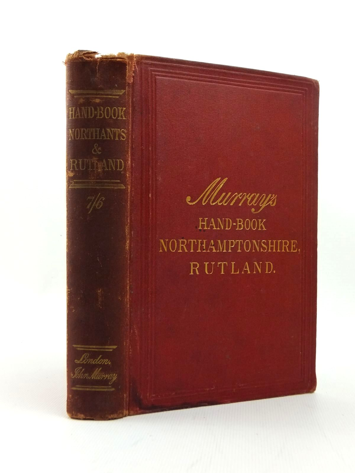 Photo of HANDBOOK FOR NORTHAMPTONSHIRE AND RUTLAND- Stock Number: 1208690