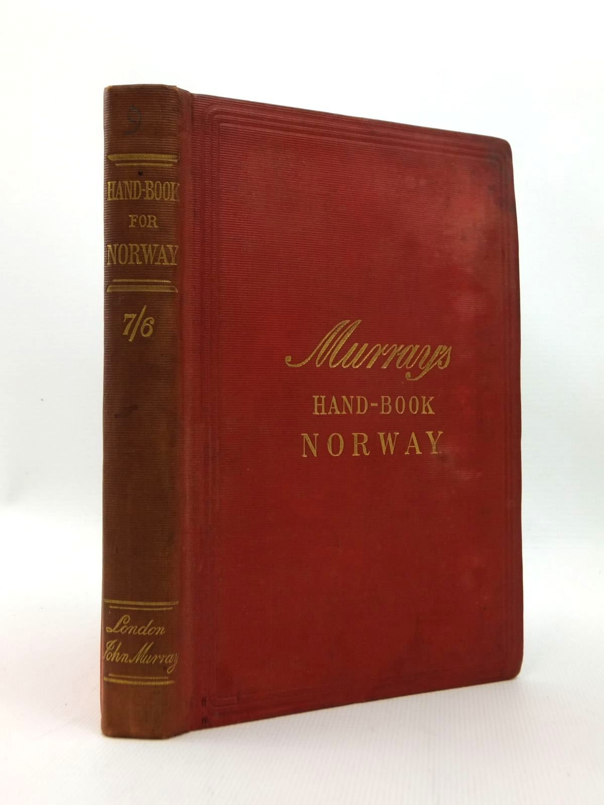Photo of HANDBOOK FOR TRAVELLERS IN NORWAY- Stock Number: 1208692