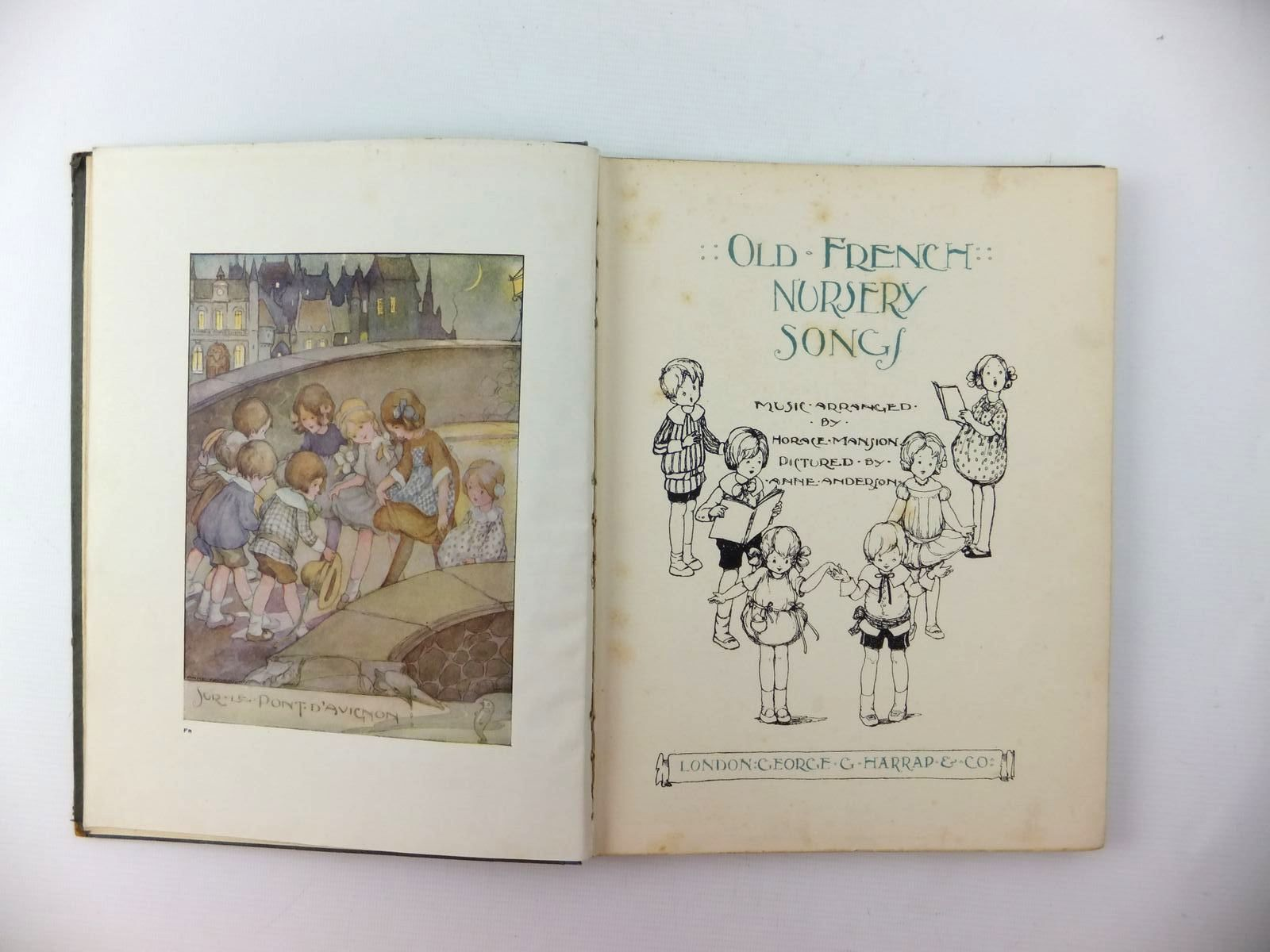 Photo of OLD FRENCH NURSERY SONGS written by Mansion, Horace illustrated by Anderson, Anne published by George G. Harrap & Co. Ltd. (STOCK CODE: 1208799)  for sale by Stella & Rose's Books