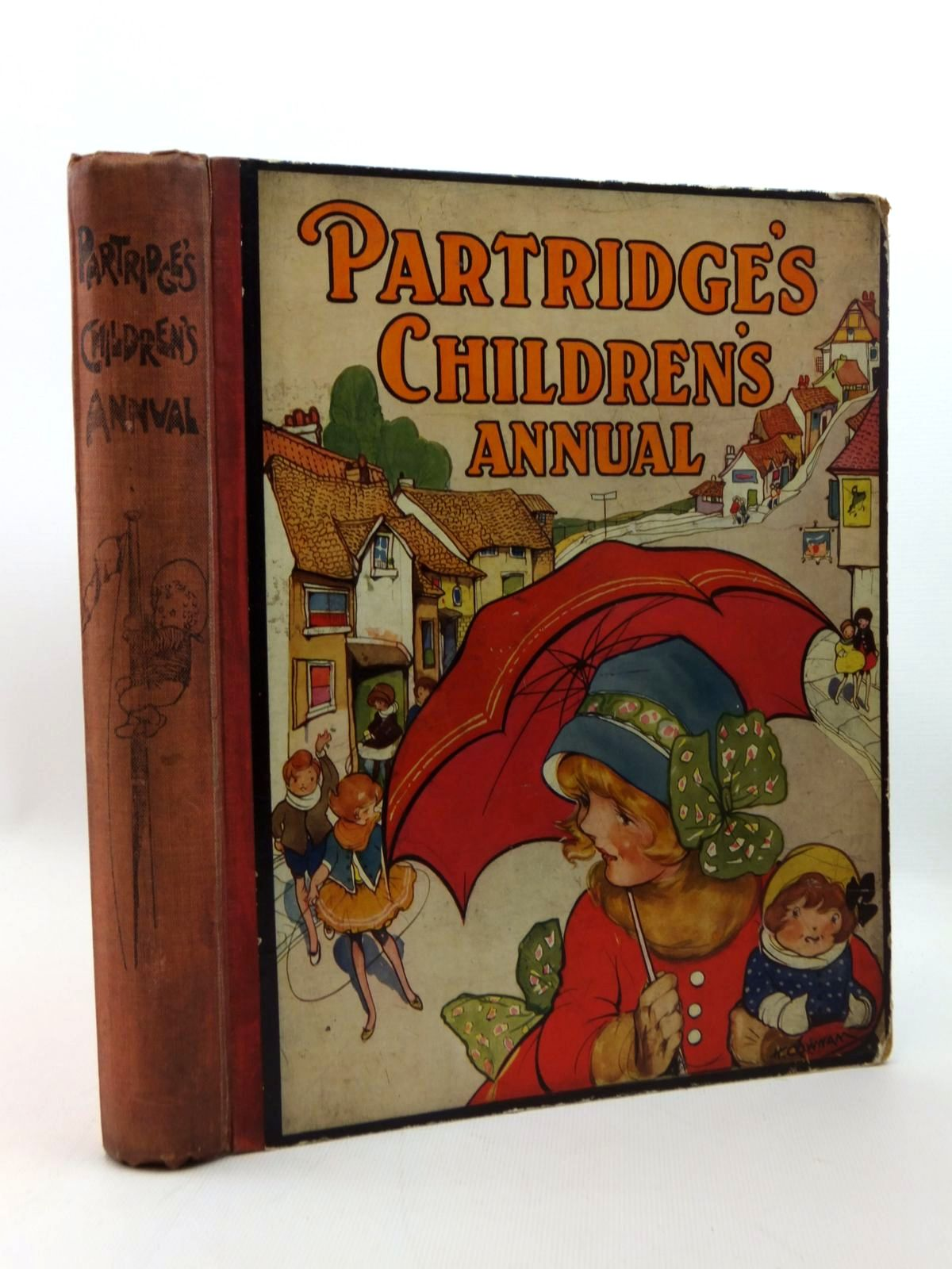 Photo of PARTRIDGE'S CHILDREN'S ANNUAL - 17TH YEAR written by Rutley, Cecily M.<br />Clifford, Maurice<br />Hunter, E.M. illustrated by Neilson, Harry B.<br />Aris, Ernest A.<br />Venus, Sylvia<br />Brisley, Nina K.<br />et al., published by Partridge (STOCK CODE: 1208816)  for sale by Stella & Rose's Books