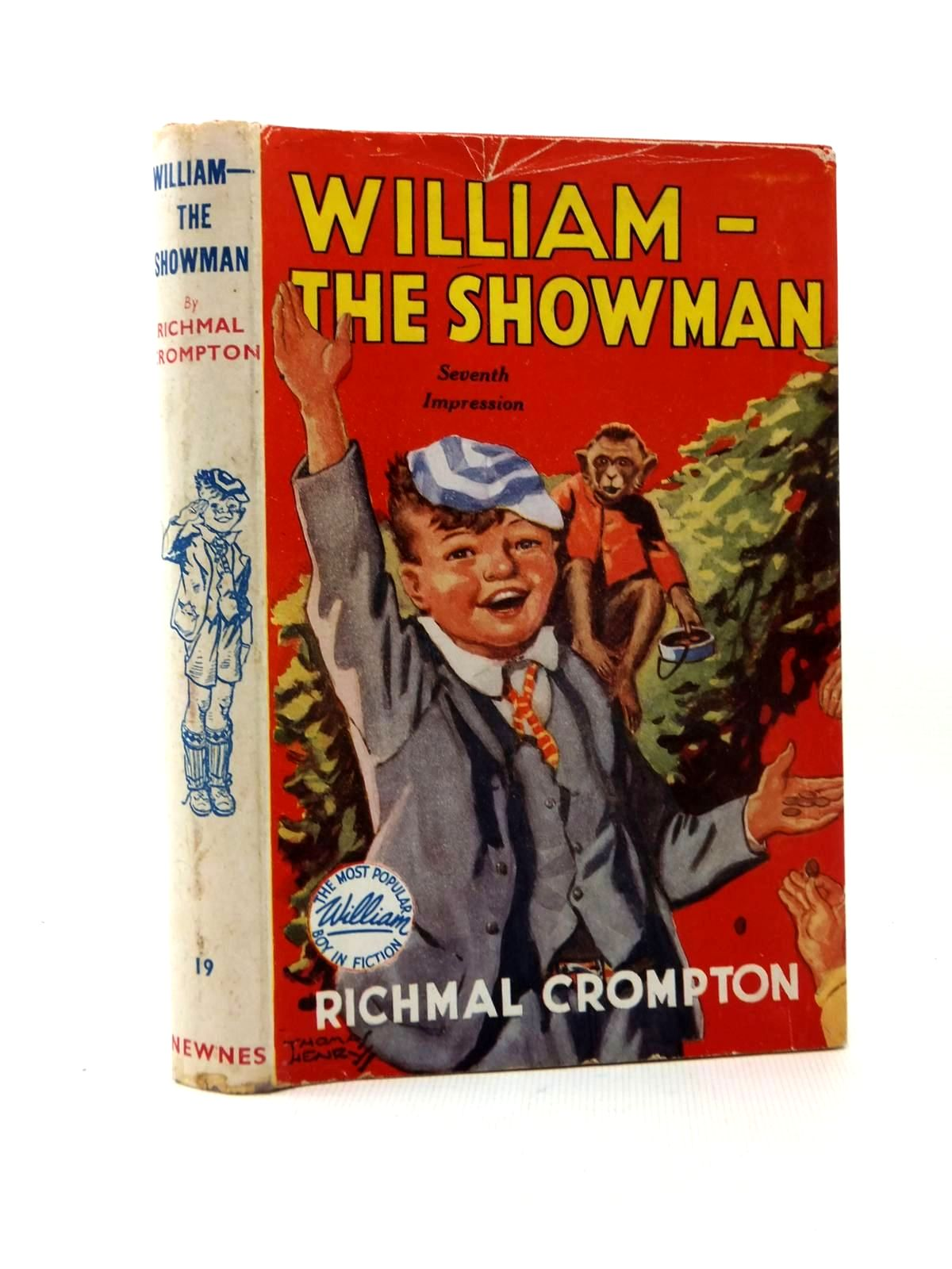 Photo of WILLIAM THE SHOWMAN written by Crompton, Richmal illustrated by Henry, Thomas published by George Newnes Limited (STOCK CODE: 1208832)  for sale by Stella & Rose's Books