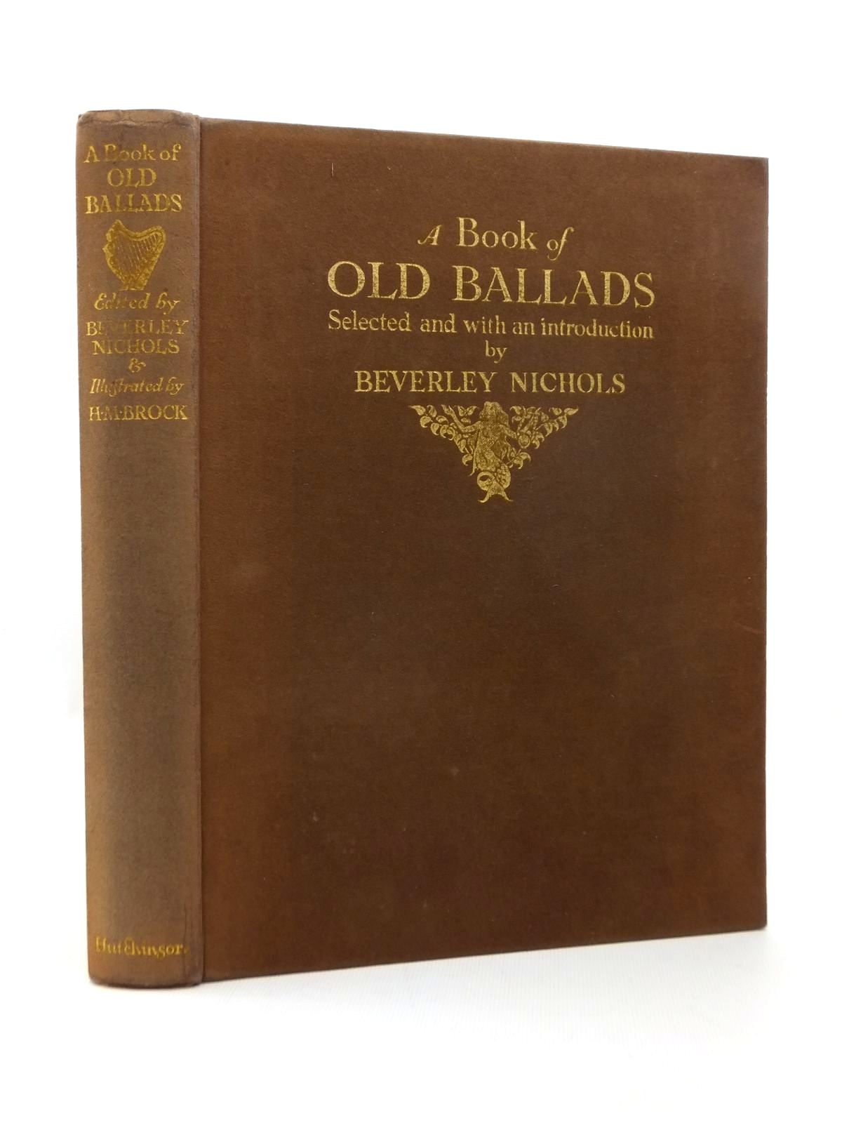 Photo of A BOOK OF OLD BALLADS- Stock Number: 1208889