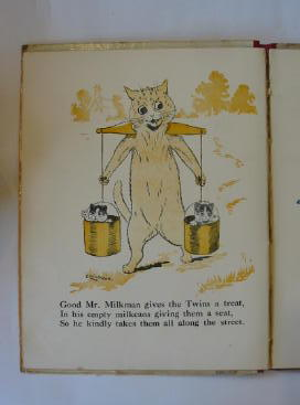 Photo of MERRY TIMES WITH LOUIS WAIN written by Black, Dorothy Floyd, Grace C. Gale, Norman et al,  illustrated by Wain, Louis published by Raphael Tuck & Sons Ltd. (STOCK CODE: 1301141)  for sale by Stella & Rose's Books