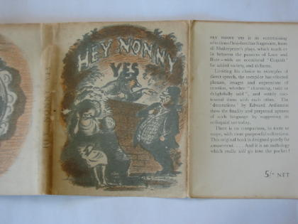 Photo of HEY NONNY YES written by Shakespeare, William