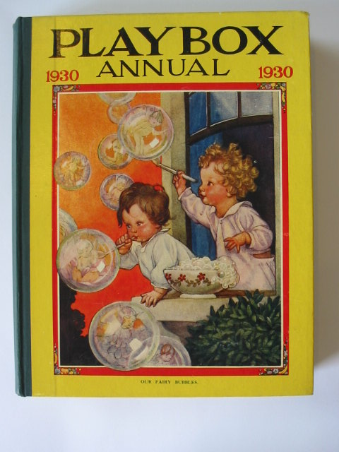 Photo of PLAYBOX ANNUAL 1930 illustrated by Foxwell, Herbert