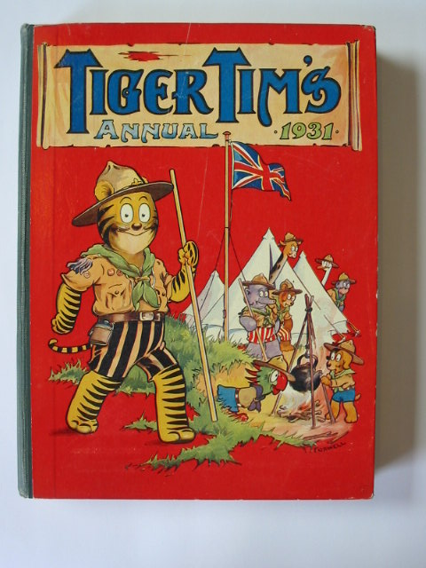 Photo of TIGER TIM'S ANNUAL 1931 illustrated by Foxwell, Herbert<br />et al.,  published by The Amalgamated Press (STOCK CODE: 1302496)  for sale by Stella & Rose's Books