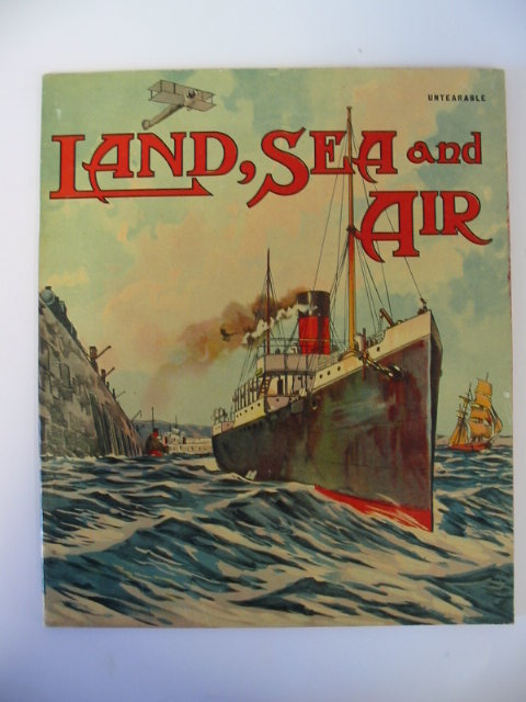 Photo of LAND, SEA AND AIR published by The Alexandra Publishing Co. (STOCK CODE: 1303154)  for sale by Stella & Rose's Books