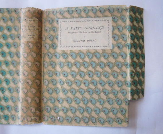 Photo of A FAIRY GARLAND written by Perrault, Charles D'Aulnoy, Madame et al, illustrated by Dulac, Edmund published by Cassell & Company Ltd (STOCK CODE: 1304202)  for sale by Stella & Rose's Books