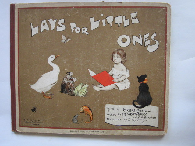 Photo of LAYS FOR LITTLE ONES written by Weatherly, F.E. Askwith, G.R. illustrated by Hardy, Dudley published by G. Ricordi & Co. (STOCK CODE: 1305789)  for sale by Stella & Rose's Books