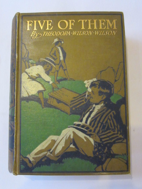 Photo of FIVE OF THEM written by Wilson, Theodora Wilson illustrated by Browne, Gordon published by Blackie & Son Ltd. (STOCK CODE: 1306410)  for sale by Stella & Rose's Books