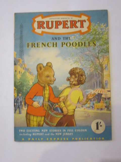 Photo of RUPERT ADVENTURE SERIES No. 25 - RUPERT AND THE FRENCH POODLES written by Bestall, Alfred published by Daily Express (STOCK CODE: 1306442)  for sale by Stella & Rose's Books