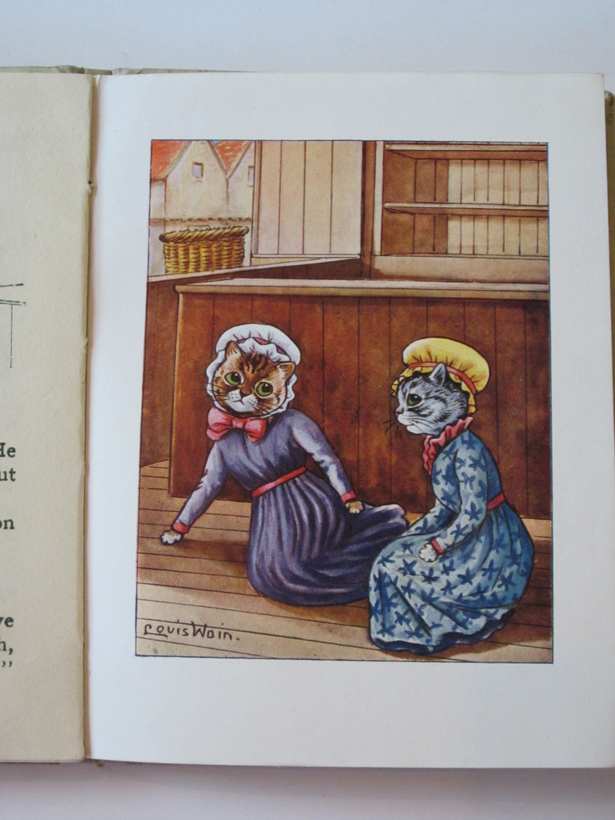Photo of THE TALE OF THE TABBY TWINS written by Rutley, Cecily M. illustrated by Wain, Louis published by Valentine & Sons Ltd. (STOCK CODE: 1308109)  for sale by Stella & Rose's Books
