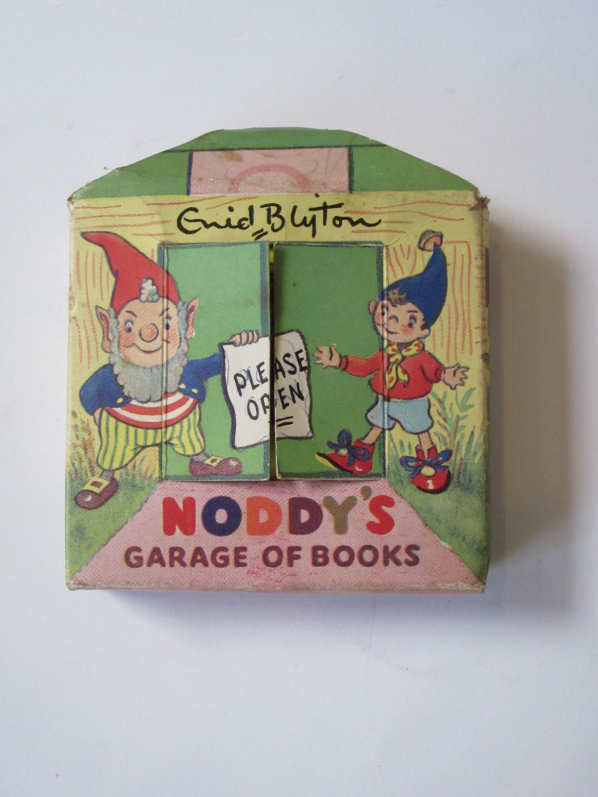 Photo of NODDY'S GARAGE OF BOOKS written by Blyton, Enid illustrated by Beek,  published by Sampson Low (STOCK CODE: 1308307)  for sale by Stella & Rose's Books