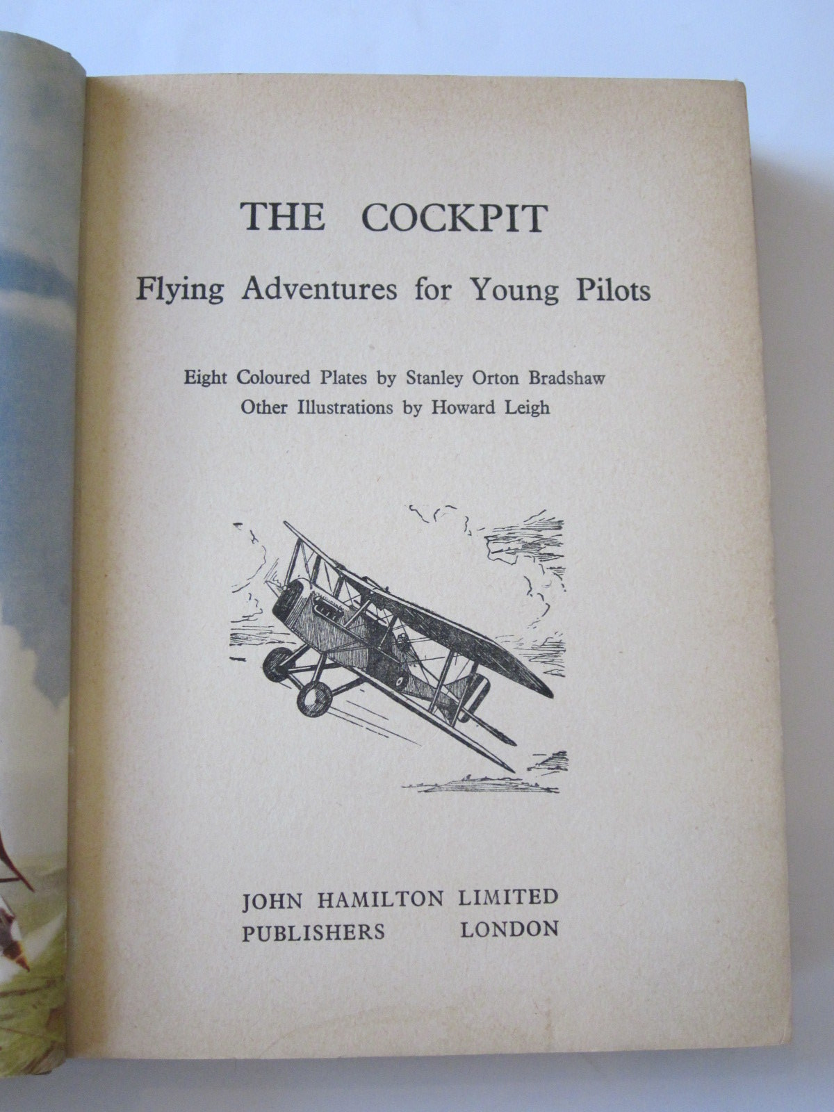 Photo of THE COCKPIT FLYING ADVENTURES FOR YOUNG PILOTS written by Johns, W.E. Whitehouse, Arch Stark, Rudolf et al,  illustrated by Bradshaw, Stanley Orton Leigh, Howard published by John Hamilton Ltd. (STOCK CODE: 1308325)  for sale by Stella & Rose's Books