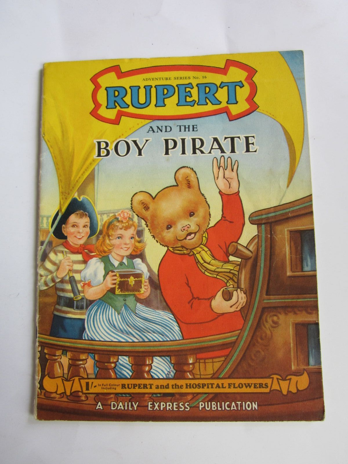 Photo of RUPERT ADVENTURE SERIES No. 16 - RUPERT AND THE BOY PIRATE written by Bestall, Alfred published by Daily Express (STOCK CODE: 1309059)  for sale by Stella & Rose's Books