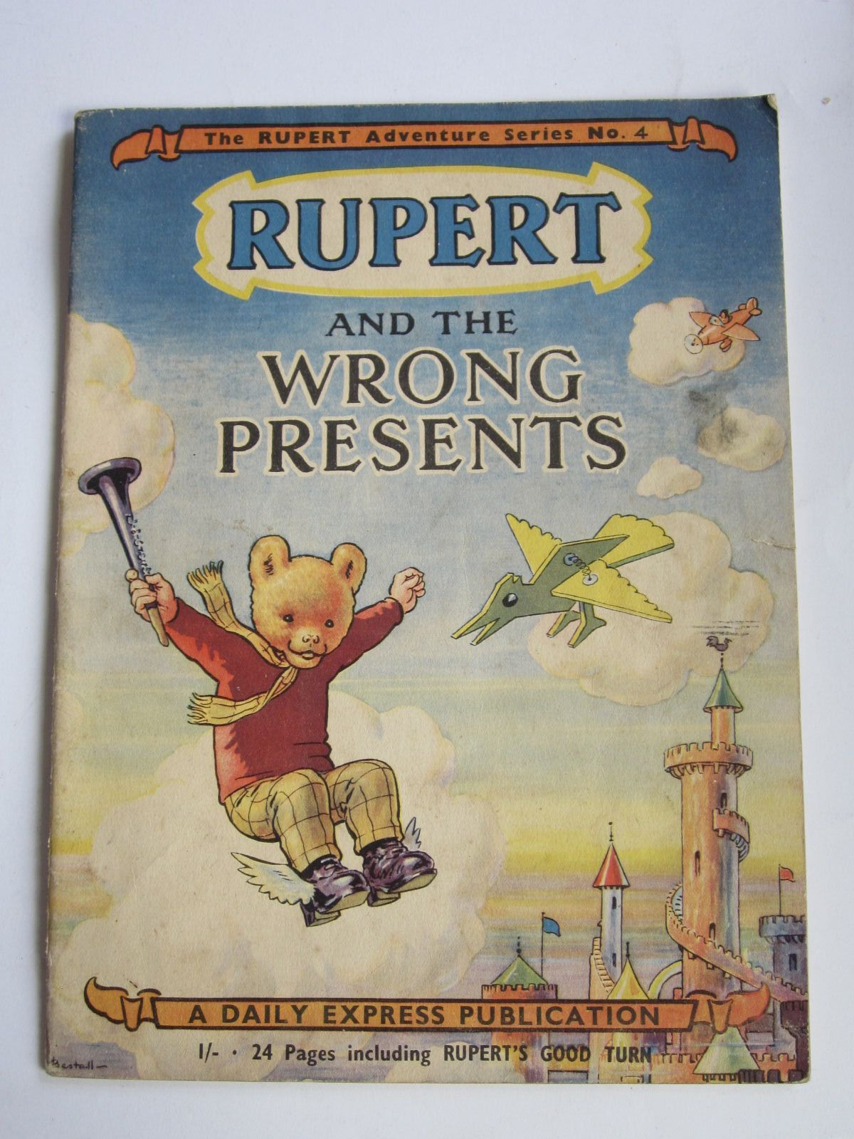 Photo of RUPERT ADVENTURE SERIES No. 4 - RUPERT AND THE WRONG PRESENTS written by Bestall, Alfred illustrated by Bestall, Alfred published by Daily Express (STOCK CODE: 1309073)  for sale by Stella & Rose's Books