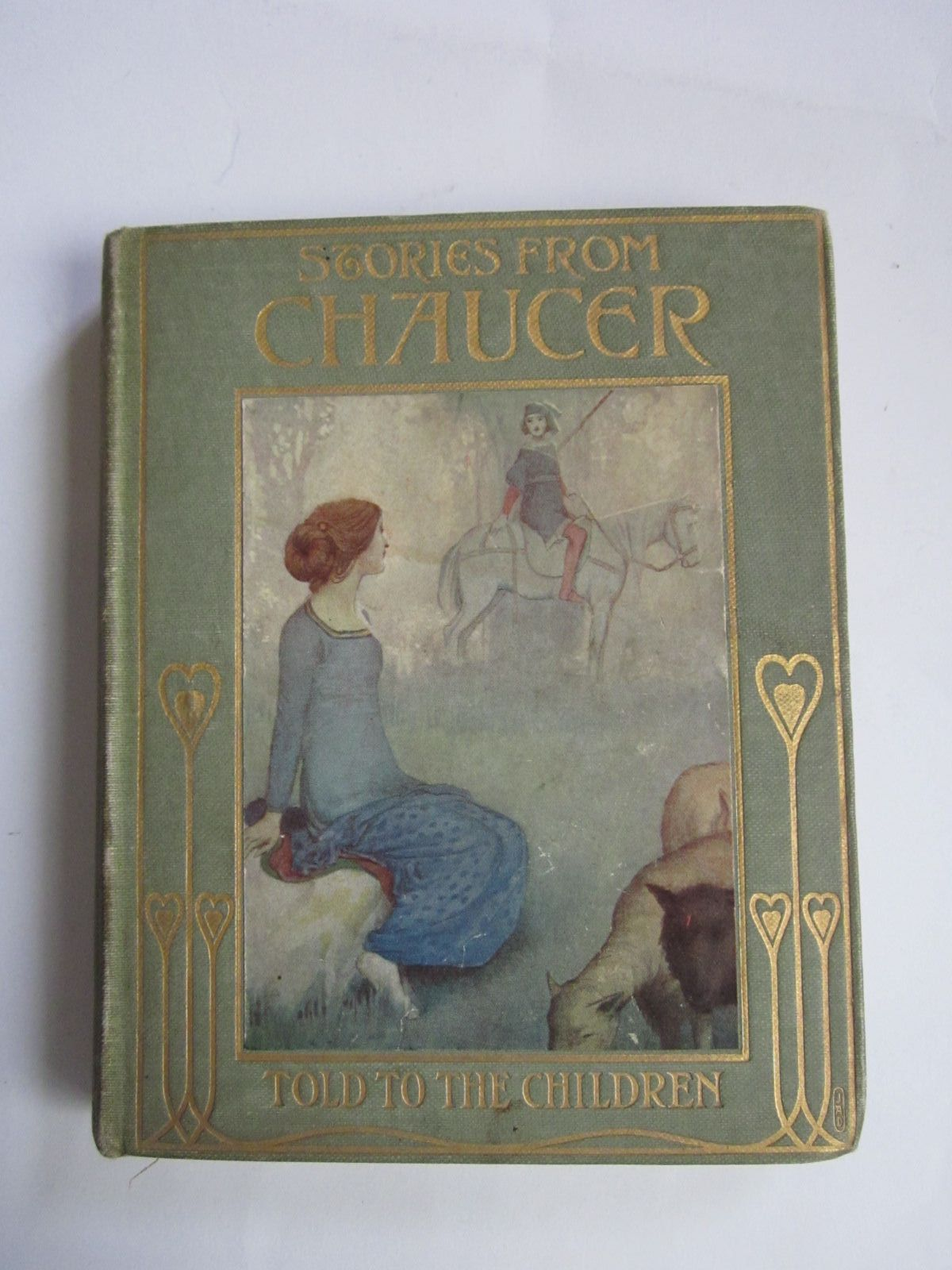 Photo of STORIES FROM CHAUCER written by Chaucer, Geoffrey Kelman, Janet Harvey illustrated by Robinson, W. Heath published by T.C. & E.C. Jack (STOCK CODE: 1309216)  for sale by Stella & Rose's Books