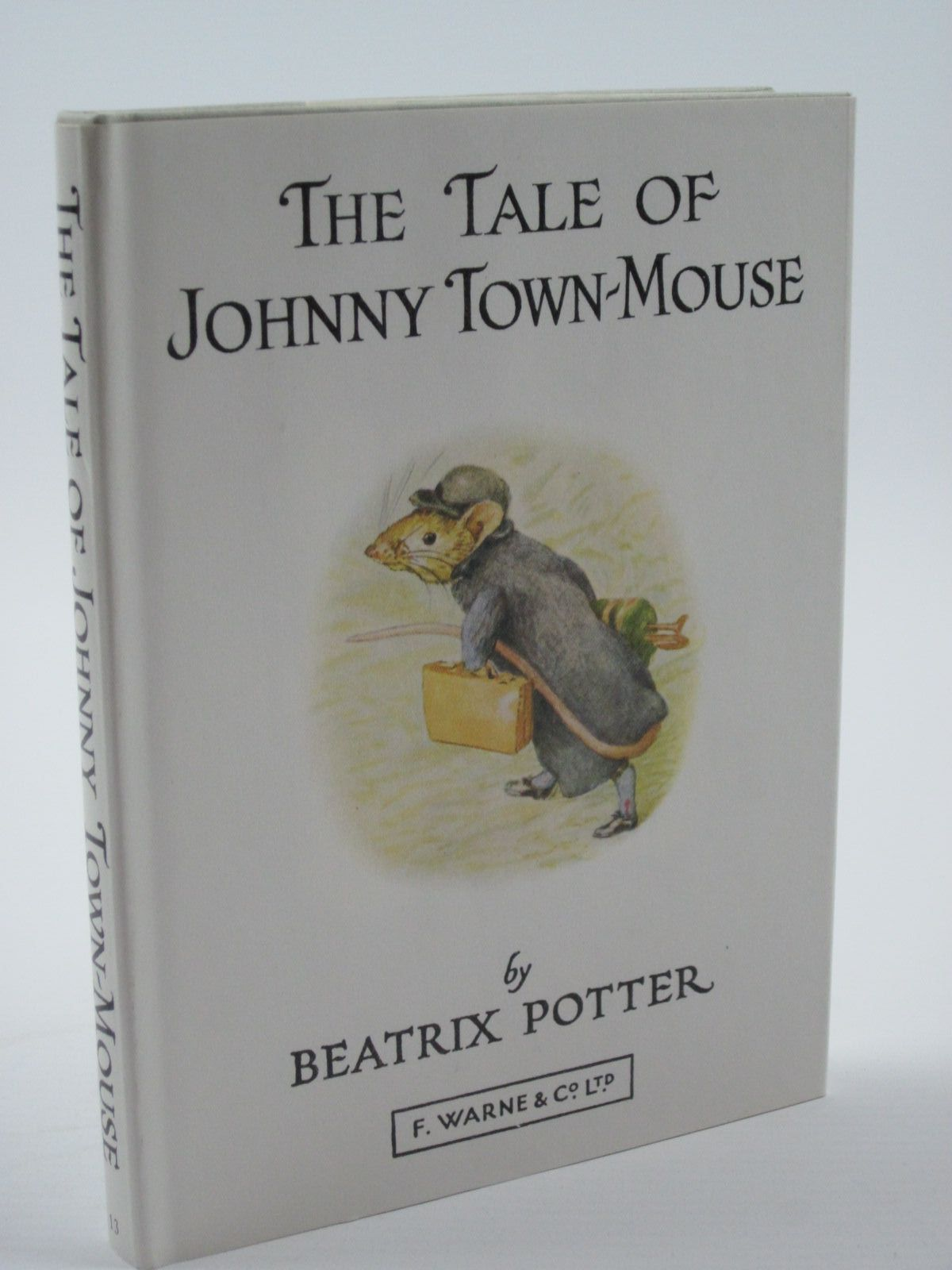 Photo of THE TALE OF JOHNNY TOWN-MOUSE written by Potter, Beatrix illustrated by Potter, Beatrix published by Frederick Warne & Co Ltd. (STOCK CODE: 1309329)  for sale by Stella & Rose's Books
