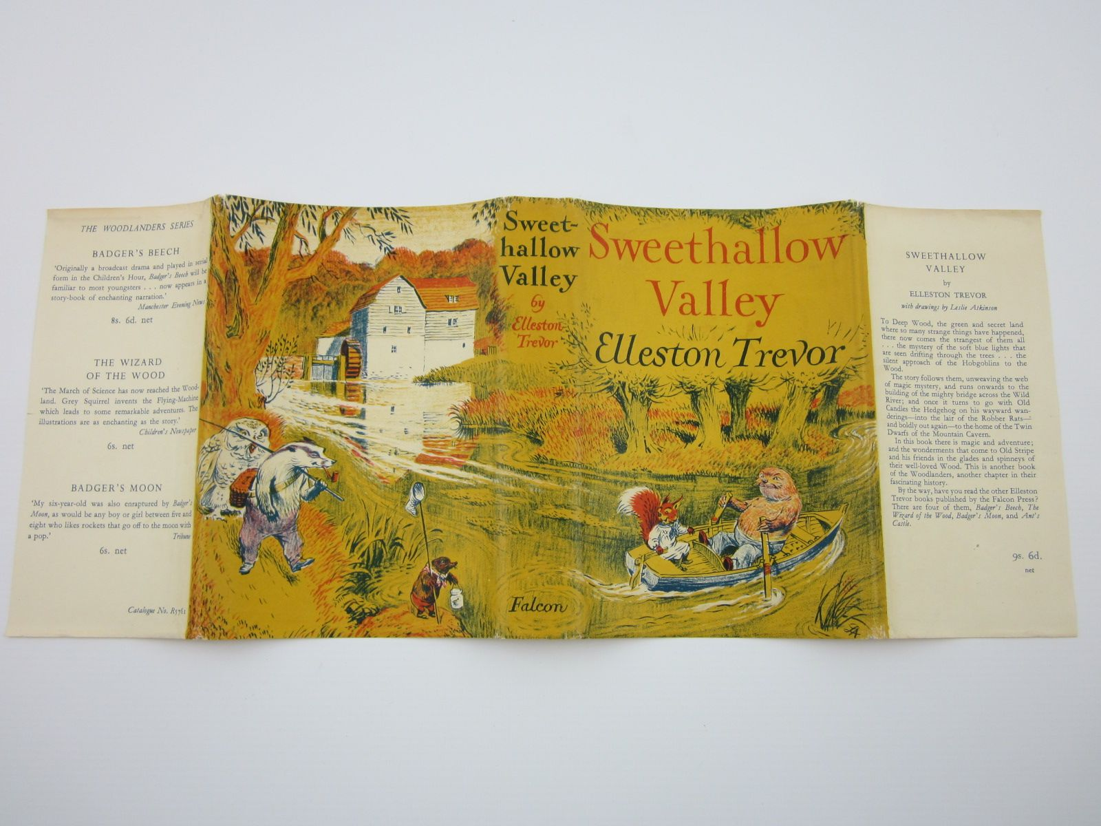 Photo of SWEETHALLOW VALLEY written by Trevor, Elleston illustrated by Atkinson, Leslie published by The Falcon Press Ltd. (STOCK CODE: 1309427)  for sale by Stella & Rose's Books