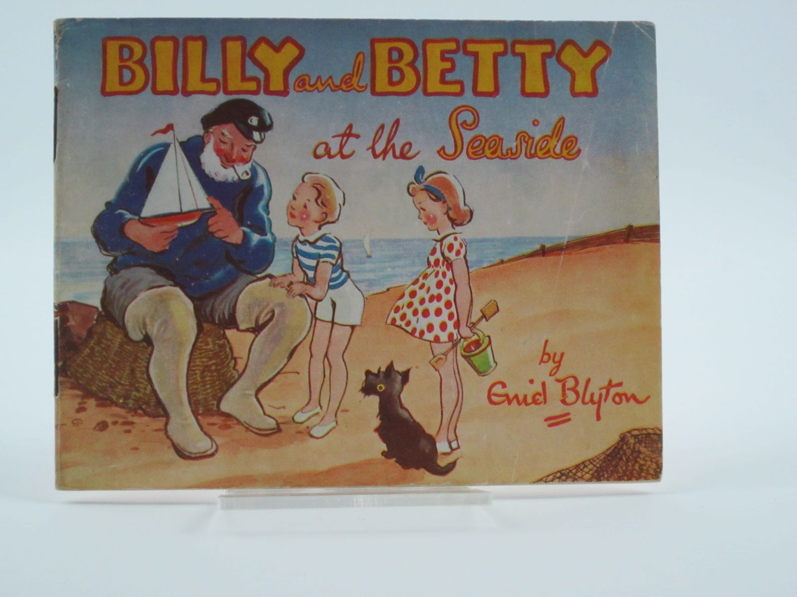 Photo of BILLY AND BETTY AT THE SEASIDE written by Blyton, Enid published by Valentine & Sons Ltd. (STOCK CODE: 1309479)  for sale by Stella & Rose's Books