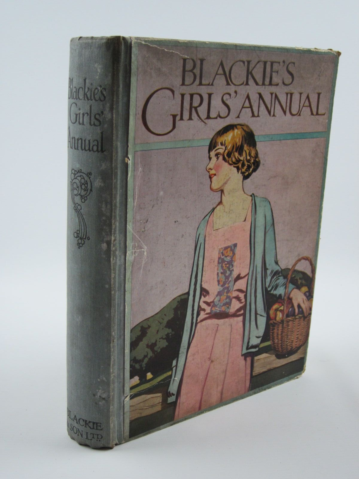Photo of BLACKIE'S GIRLS' ANNUAL written by Harrison, Florence Westwood, J.D. Brazil, Angela et al,  illustrated by Harrison, Florence Reynolds, Warwick et al.,  published by Blackie & Son Ltd. (STOCK CODE: 1309677)  for sale by Stella & Rose's Books