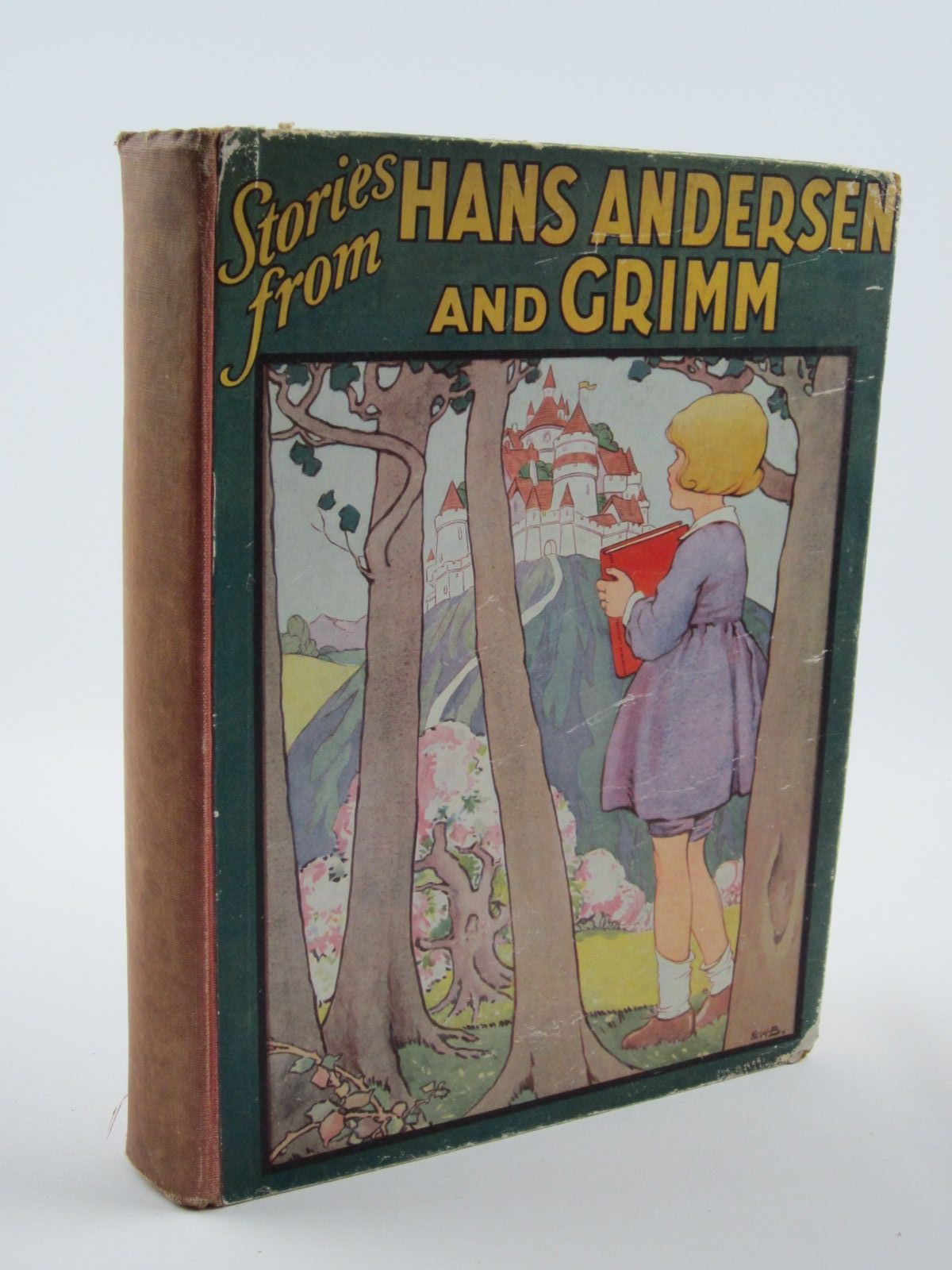 Photo of STORIES FROM HANS ANDERSEN AND GRIMM written by Andersen, Hans Christian<br />Grimm, Brothers illustrated by Clarke, Harry<br />Betts, Ethel Franklin published by J. Coker &amp; Co. (STOCK CODE: 1309679)  for sale by Stella & Rose's Books