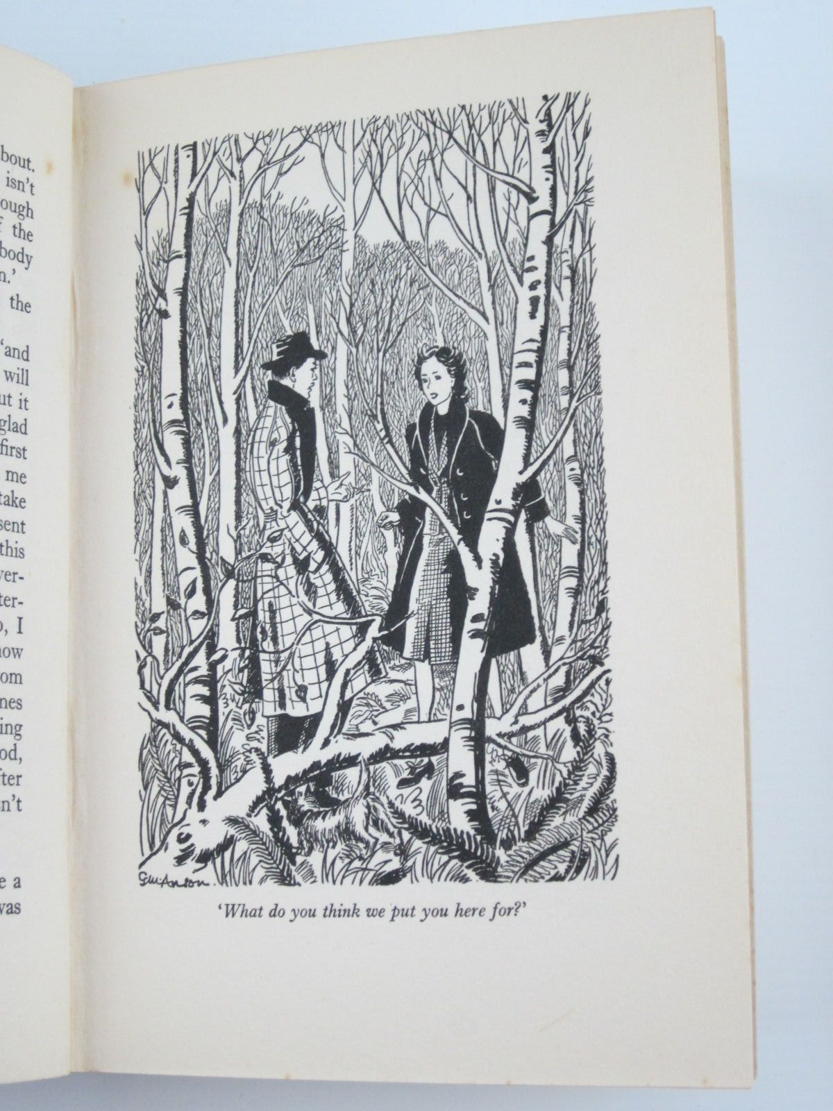 Photo of THE SCHOOL IN THE WOODS written by Bruce, Dorita Fairlie illustrated by Anson, G.M. published by Oxford University Press, Humphrey Milford (STOCK CODE: 1309768)  for sale by Stella & Rose's Books
