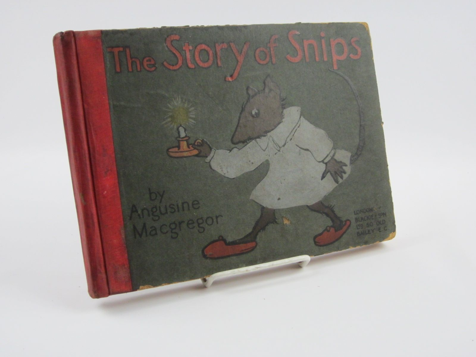 Photo of THE STORY OF SNIPS written by MacGregor, Angusine illustrated by Macgregor, Angusine published by Blackie & Son Ltd. (STOCK CODE: 1309804)  for sale by Stella & Rose's Books
