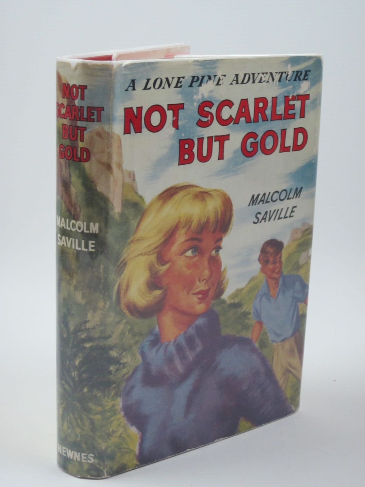 Photo of NOT SCARLET BUT GOLD written by Saville, Malcolm illustrated by Whitear, A.R. published by Newnes (STOCK CODE: 1309874)  for sale by Stella & Rose's Books