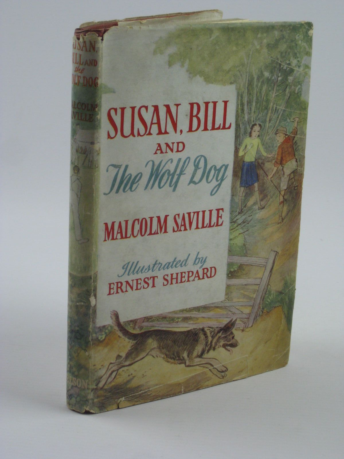 Photo of SUSAN, BILL AND THE WOLF-DOG written by Saville, Malcolm illustrated by Shepard, E.H. published by Thomas Nelson & Sons (STOCK CODE: 1310245)  for sale by Stella & Rose's Books